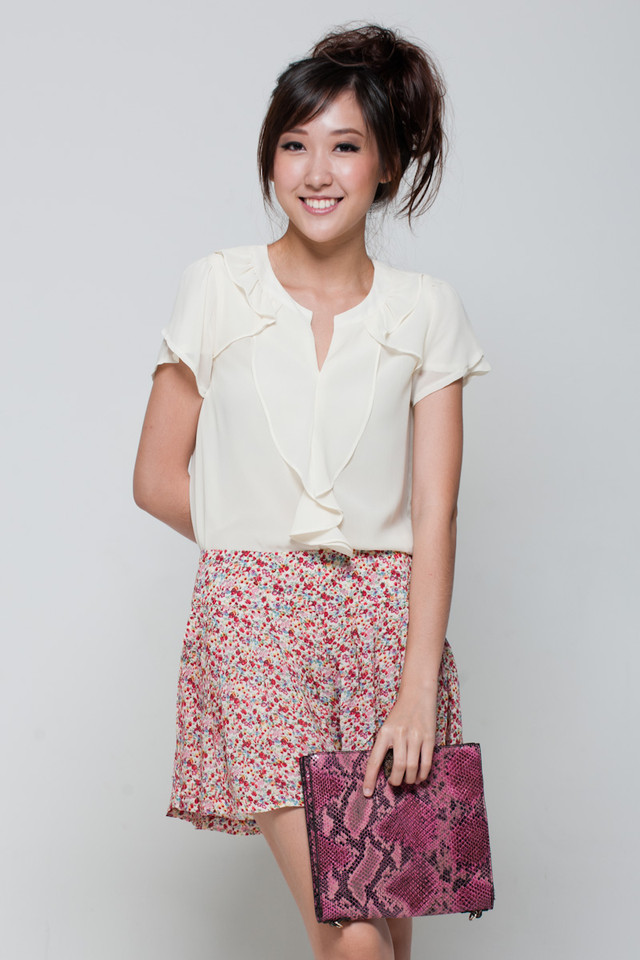 Floral Shorts - SGD 22