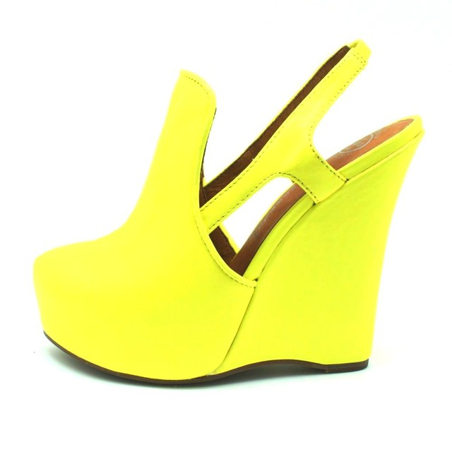 Jeffrey Campbell Darian Neon Yellow - SGD 180