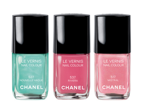 Lovely Chanel nail colors!