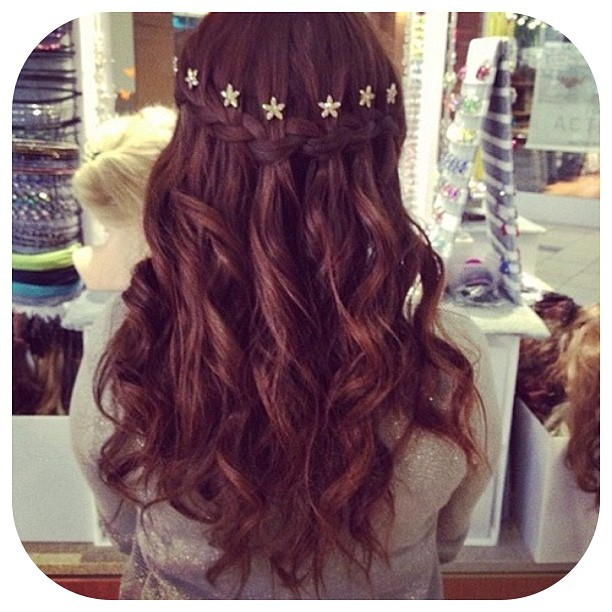 Waterfall braid