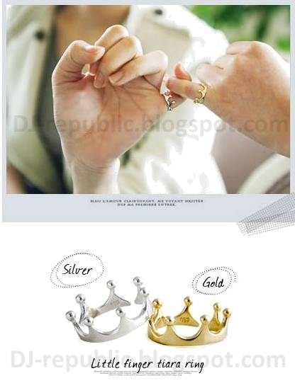 CROWN RING - SGD 3.5