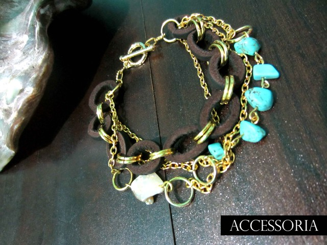 Mermaids Chained Bracelet - Under The Sea - May 2012 (summer) - IDR 129
