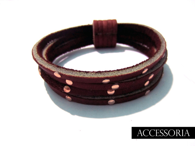Gladilicious Maroon Mini Cuff - Killer Categories - IDR 89