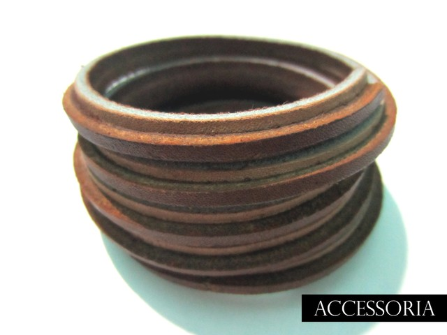 Stripes Nude Spiral Cuff ( Unisex ) - Killer Categories - IDR 119