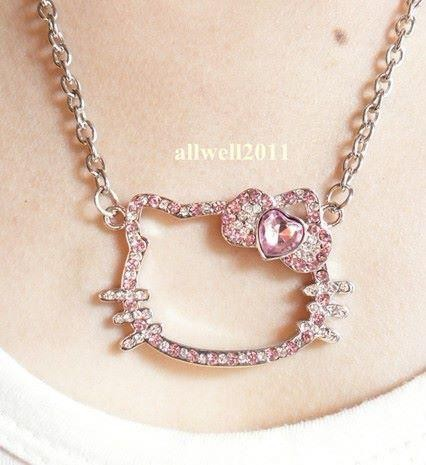 hello kitty necklace - SGD SGD$12