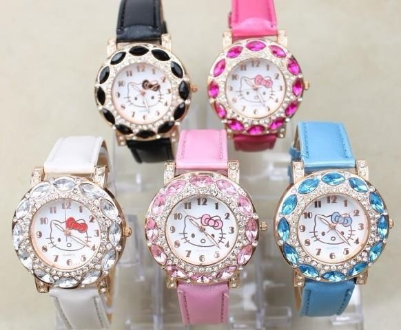 hello kitty watch - SGD SGD$12