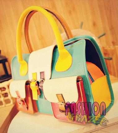 Celebrity Style Leather Stylish Handbag