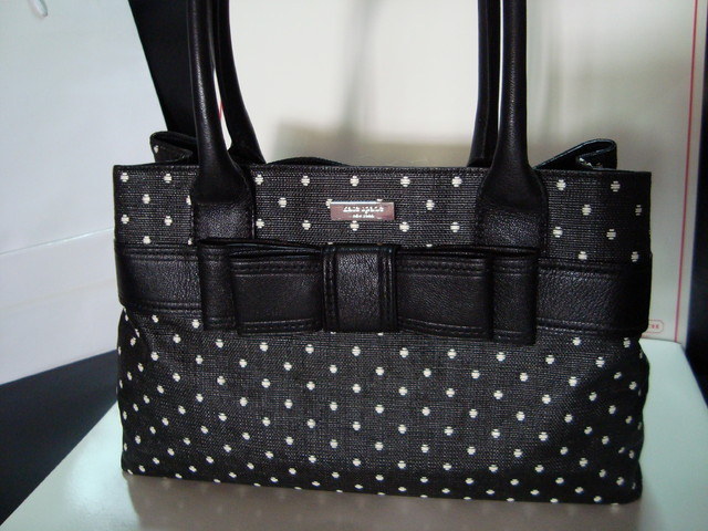 [SOLD] Kate Spade Elena Harrison Straw Bag - SGD $280