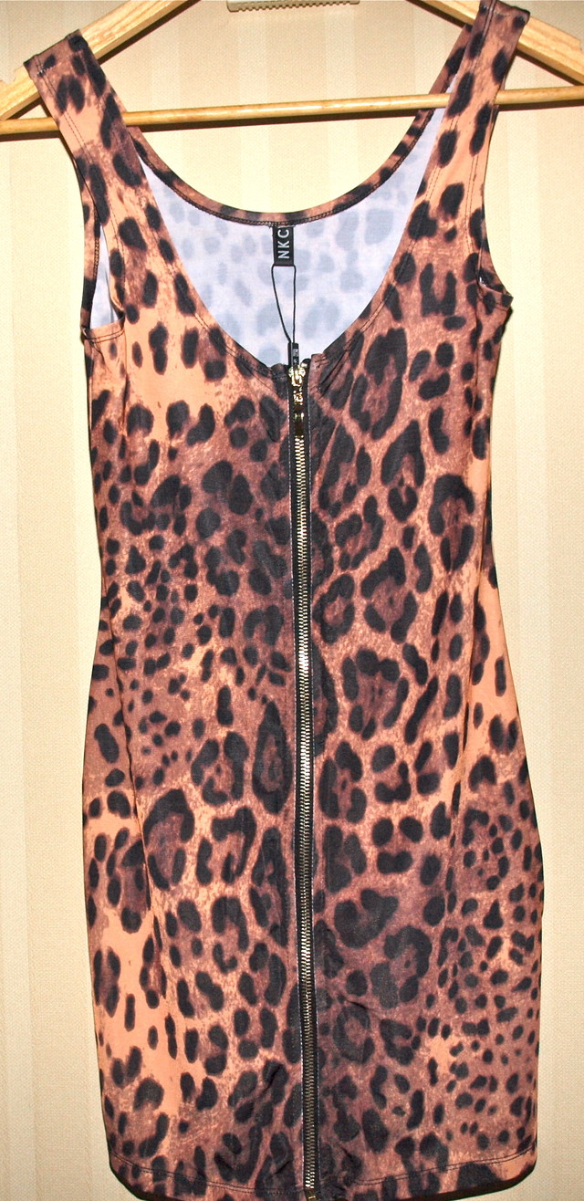 Leopard print dress - SGD 85