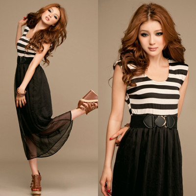 High Waist Layered Dress - MYR 