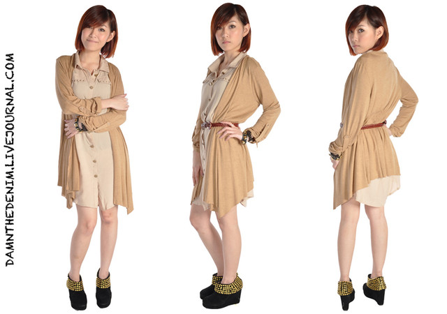 ITEM: DRAPED CARDIGAN