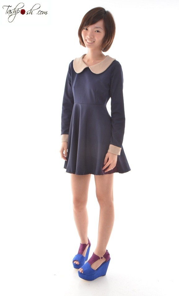 VIVI COLLARED DRESS - SGD S$28