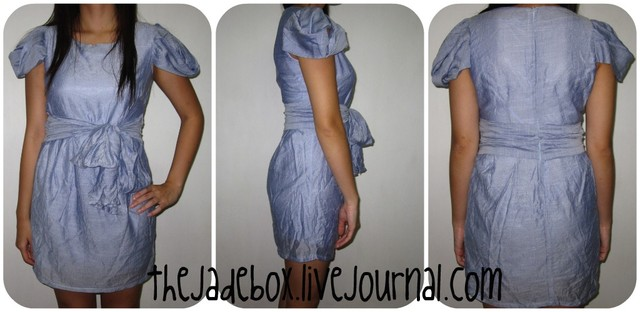 Agnella Blue Dress - SGD 24.00