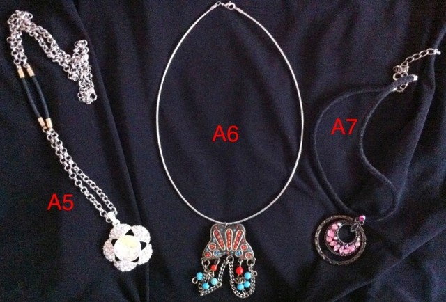 Variety Necklaces at it's peak  - SGD 39