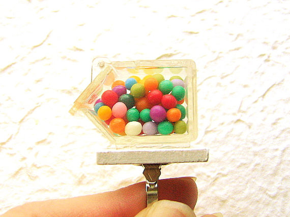 Kawaii Food Candy Ring By SouZouCreations at Etsy - USD 12.5