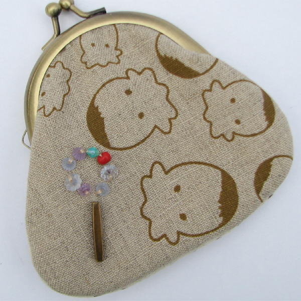 cute handmade coin purse for your heart - SGD 19