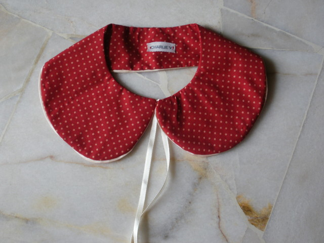 Bow&amp;Pan Collar: Rotkappchen - MYR 35