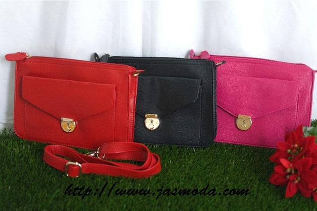 Classic Fliplock Clutch/Sling - SGD26.00 - SGD SGD26.00