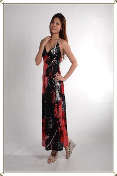 Nanette Maxi Dress - SGD $26