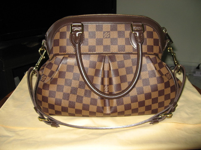 Almost New! Authentic Trevi PM Damier Bag - SGD 1850
