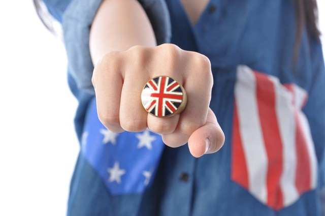 Union Jack Ring - SGD $12