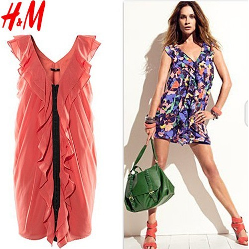 Inspired H&M Ruffles Dress $36 - SGD 36