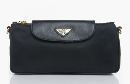 33% OFF! Prada Calf Leather Evening Clutch! ONLY $673 instead of $999 at Lussoz! Includes FREE Local Delivery! - SGD 673