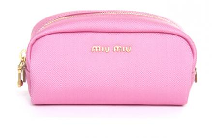 40% off Miu Miu NYLON DIAGONALE NECCESSAIRE! Only $214 instead of $380 at Lussoz! Includes FREE Local Delivery! - SGD 214