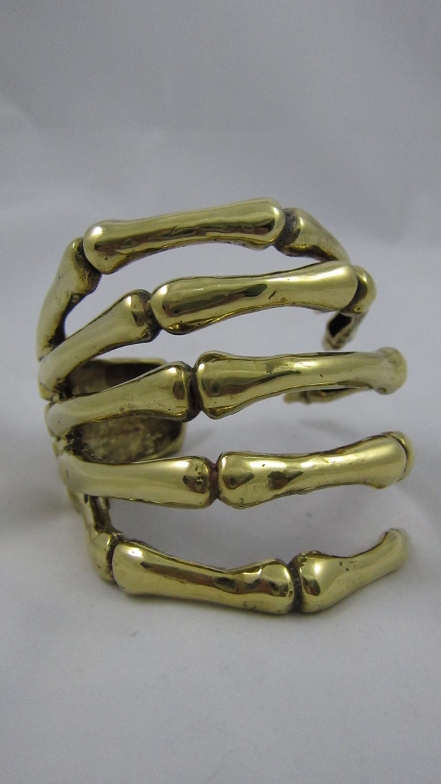 Skeletal Hand Cuff/Bangle - PHP 1600