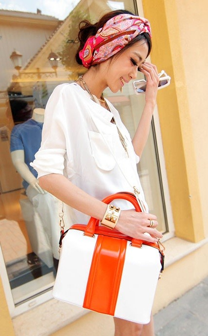 Colourblock Handbag - MYR 70