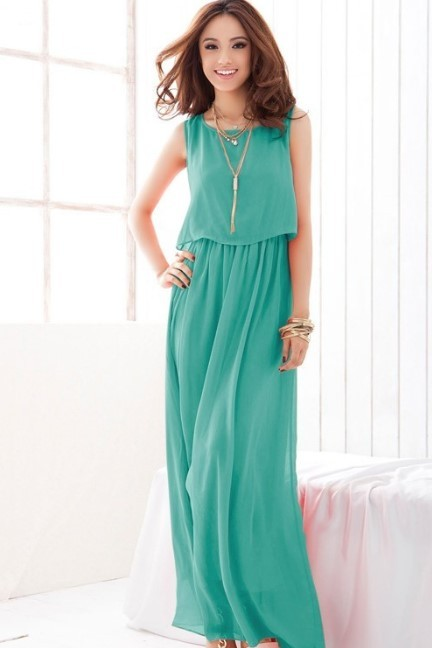 Casual Maxi-Dress - MYR 75.00