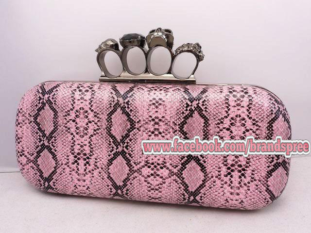 Inspired Alexander McQueen Clutch - MYR 380