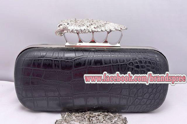 Inspired Alexander McQueen Clutch - MYR 330