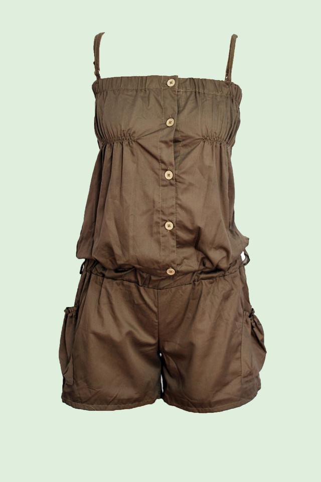 Chrome Romper - SGD 18