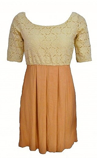 Tea Dress with Lace - SGD 26
