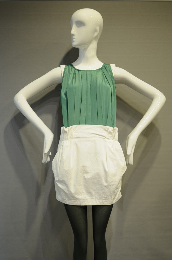 Green/White Dress - SGD 59