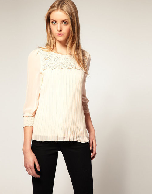 Crochet Blouse $22 - SGD 22