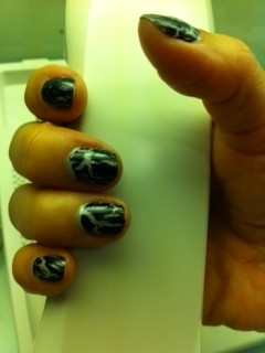 Opi 'Shattered' Nails