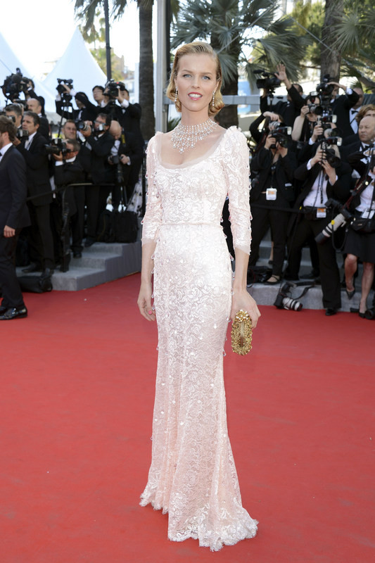 Eva Herzigova in Dolce &amp; Gabbana