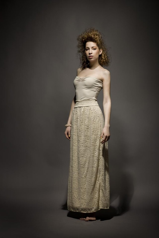 Maxi skirt + top - USD 90