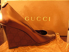 Gucci wedges :) Very comfortable.