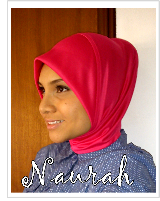 Neck Covered Inner Jersey- Pink. - MYR 10