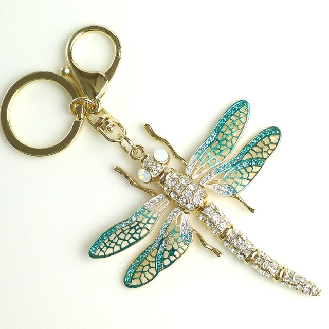 $29.90 - Key Ring-Dragonfly Design - SGD $29.90