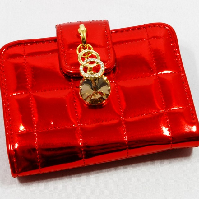 $23.90 - Card Holder-Gem Charm Design - SGD $23.90