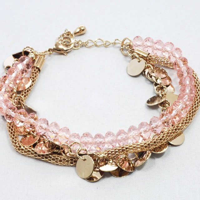 $27.90 - Korean Bracelet- Beads Design - SGD $27.90