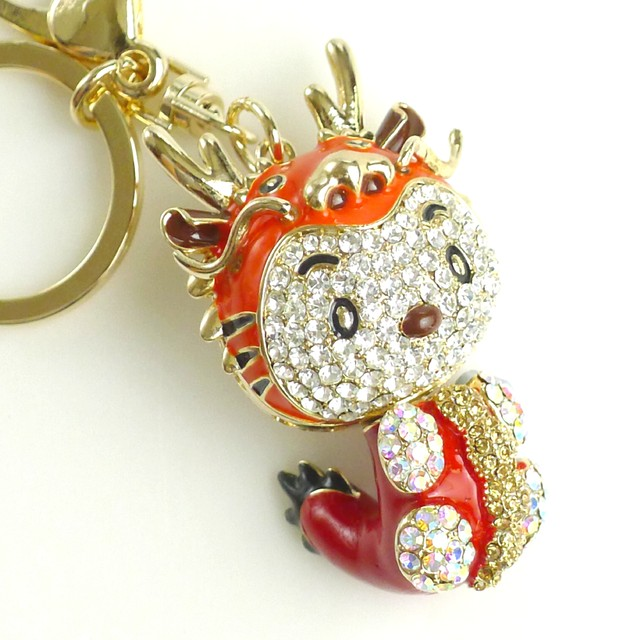 $33.90 - Key Ring-Dragon Design - SGD $33.90