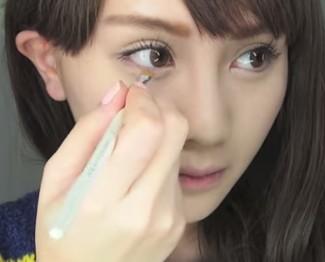譚杏藍 Hana Tam - 全人類都愛的 大眼睫毛妝