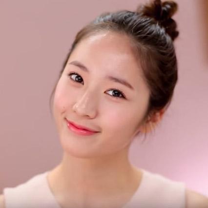 韓國女孩化妝技巧-運動女孩化妝