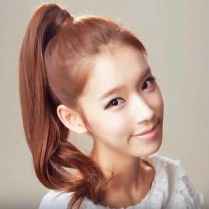 韓星教妳綁簡單漂亮的馬尾 女孩兒必學唷