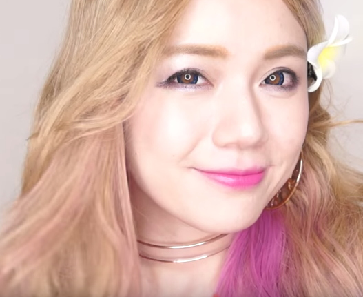 少女時代PARTY太妍的韓系芭比仿妝教學
